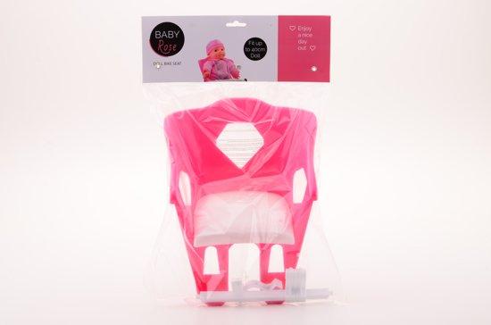 Baby Rose Poppen fietsstoel