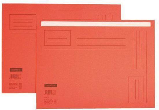 Vouwmap Vouwmap Folio Ongelijk Rood Huismerk Ongelijk Folio dxWQreBCoE
