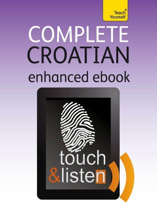 Boek cover Complete Croatian: Teach Yourself van Vladislava Ribnikar (Onbekend)