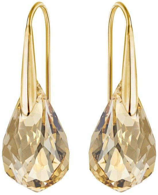 Swarovski Energic Goudkleurige Crystal Oorbellen  - Goud