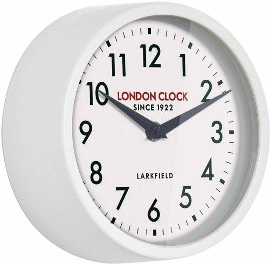 London clock Schoolklok - Horwich - wit
