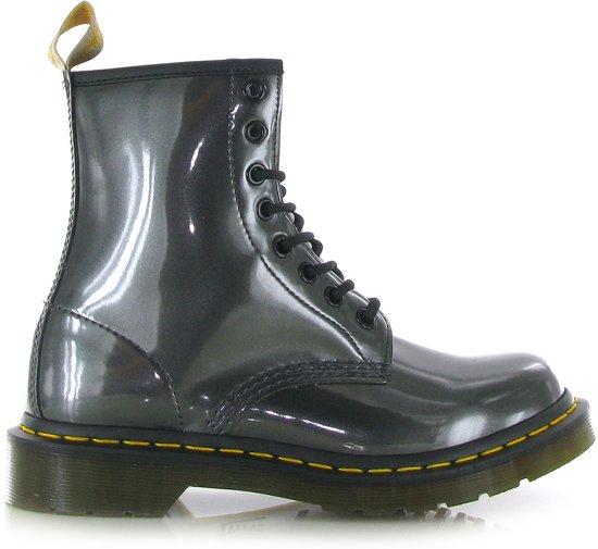 98bba6c5733 bol.com | Dr. Martens - 1460 Vegan - Boots - Dames - Maat 37 - Grijs ...