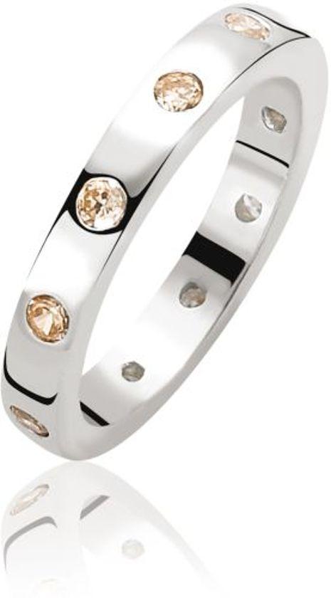 Zinzi Ring  - Dames - Zilver - 19.75 mm (62)