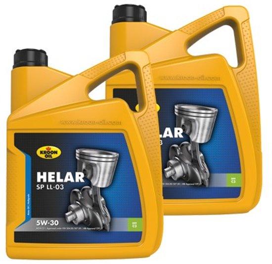 Fin bol.com   Kroon Olie aanbieding: 2 x Kroon-Oil Helar SP 5W30 LL-03 5L EO-52