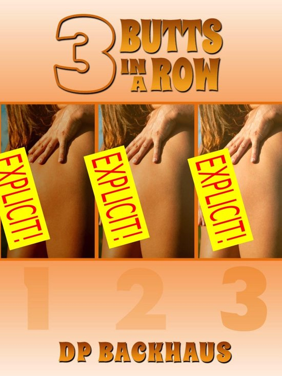 Three Butts in a Row (A Wife Swap Anal Group Sex erotica story)