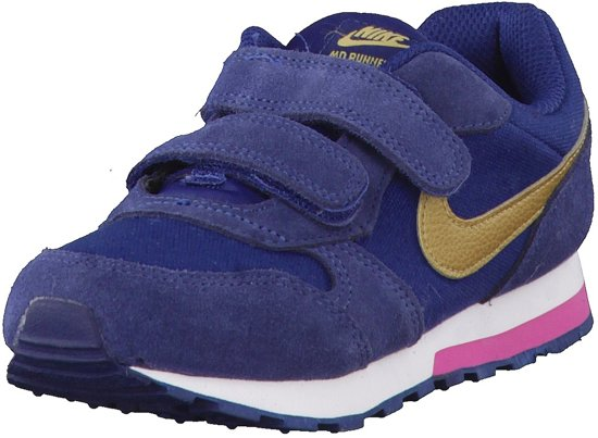 newest collection c2ae6 6a8a8 Nike MD Runner 2 (PSV) Sneakers - Maat 29.5 - Unisex - blauw
