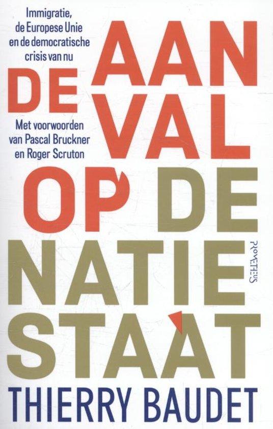 Boek cover Aanval op de natiestaat van Thierry Baudet (Paperback)