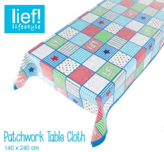 Lief Lifestyle Tafelkleed Patchwork 140x240