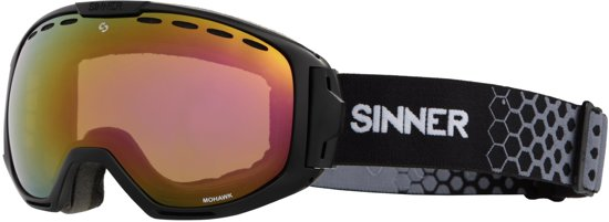Sinner Mohawk Unisex Skibril - Zwart