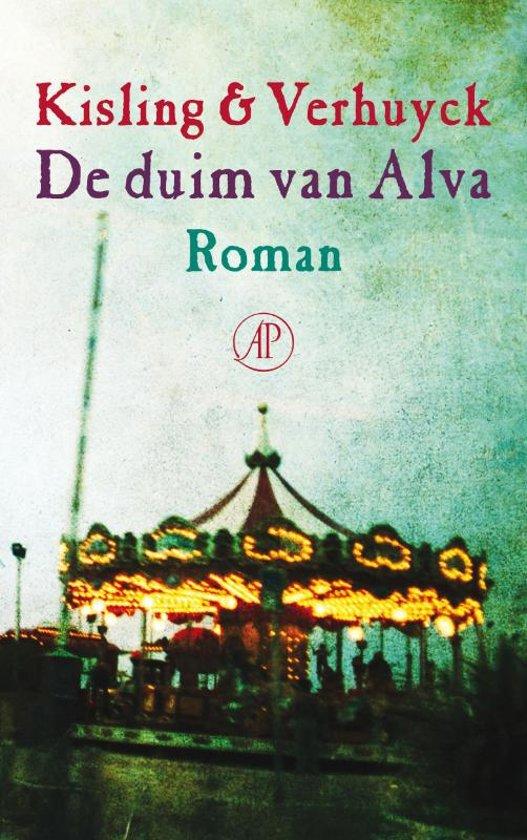 Boek cover De duim van Alva van Corine Kisling (Paperback)