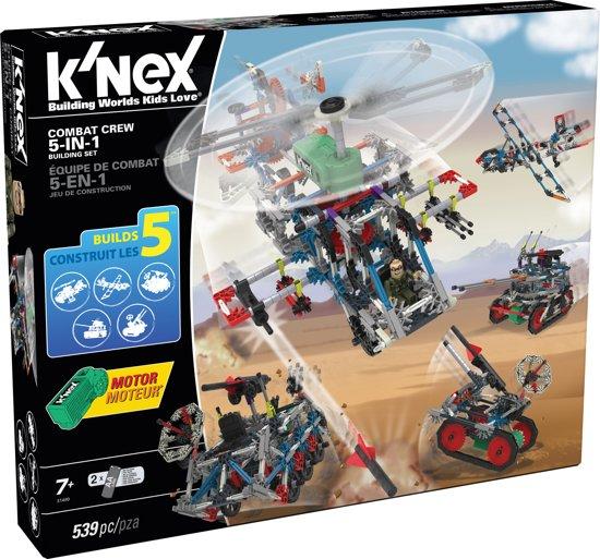K'NEX Combat Crew 5-in-1 - Bouwset