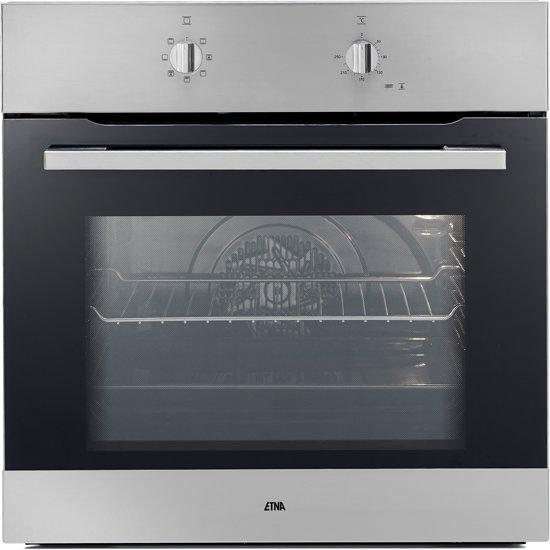 ETNA OM865RVS - Kubieklijn - Inbouw Oven - RVS