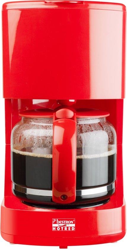 Bestron Koffiezetapparaat Hot Red 1080 W ACM300HR