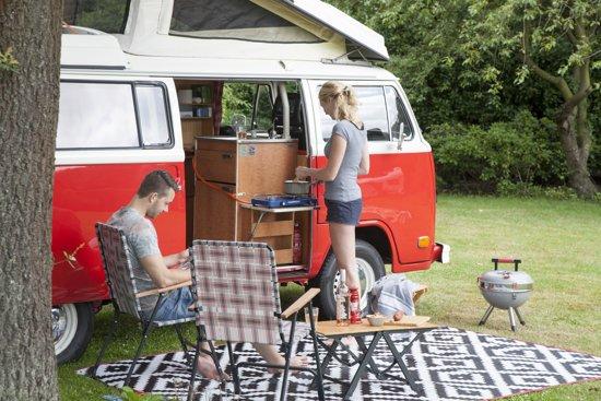 Bo-Camp Urban Outdoor Preston Grijs/Rood
