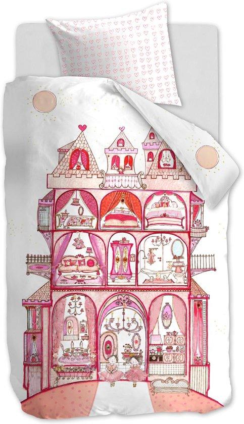 Beddinghouse Kids Sweet Palace - Dekbedovertrek - Pink - eenpersoons - 140x200/220 cm