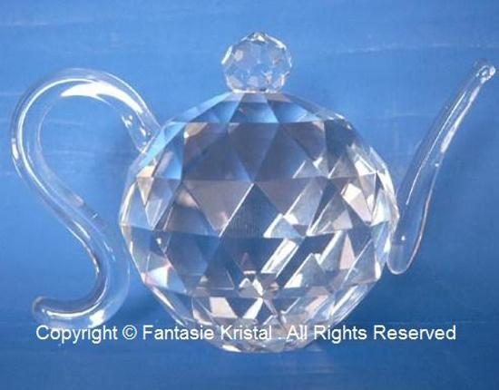 Theepotje kristal