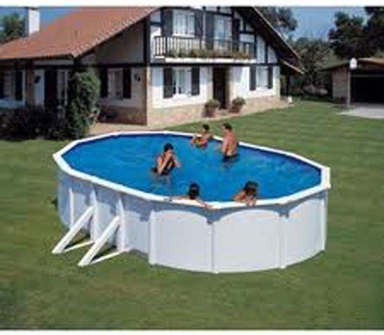 Gre Zwembad Zwembad afdekzeil zomer ovaal 7,3 x 3,75 m 401066