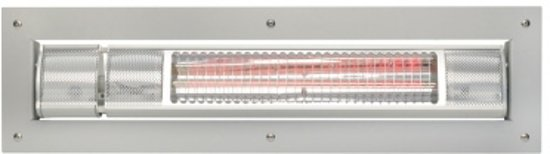 Terrasverwarmer Infrarood Low Glare INBOUW in Boerhaar