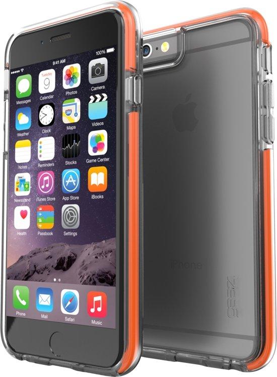 GEAR4 Black IceBox Shock Case - Apple iPhone 6 Plus/6s Plus Hoesje - Transparant
