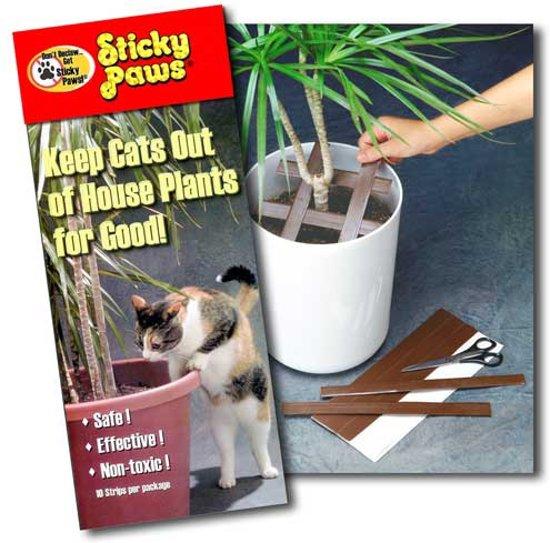 Bescherming tegen krab schade van katten Sticky Paws
