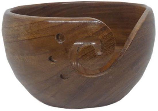 Yarn Bowl Rozenhout