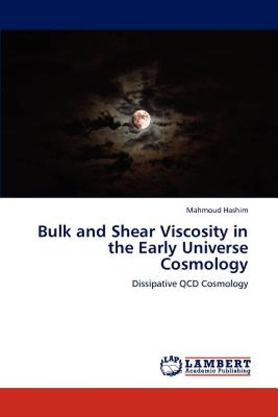 Bulk and Shear Viscosity in the Early Universe Cosmology