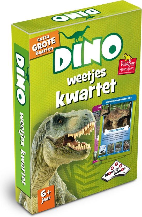 Afbeelding van het spel Dino Weetjeskwartet - Kaartspel - Special Edition