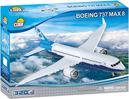 Cobi 320 PCS BOEING /26175/ 737 8 MAX