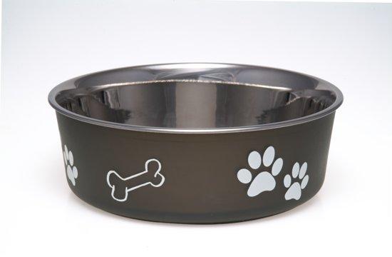 Loving Pets Bella Bowl - Voerbak - Medium 750ml - Bruin