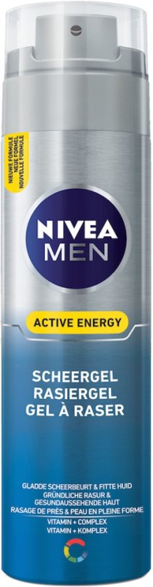 NIVEA MEN Active Energy Scheergel - 200 ml