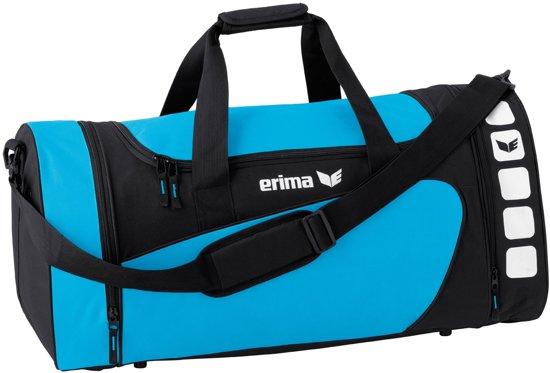 Erima Club 5 Sporttas Medium - Curaçao/Zwart