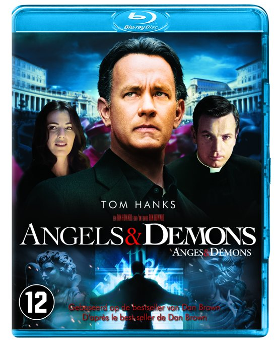 DVD cover van Angels & Demons (Special Edition) (Blu-ray)