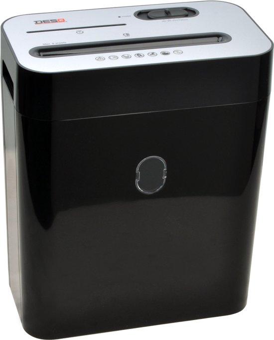 Desq 20052 papiervernietiger cross cut: 4 x 29 mm, ook CD's en (bank) pasjes vernietiger