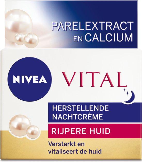NIVEA Vital Herstellend - 50 ml - Nachtcrème