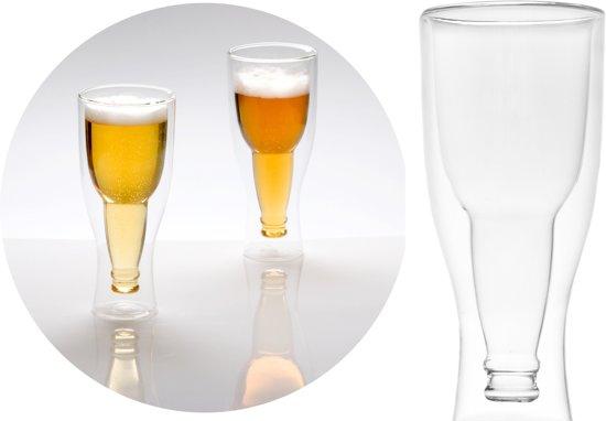 Balvi Gravity Bierglazen - Kristal - 250 ml