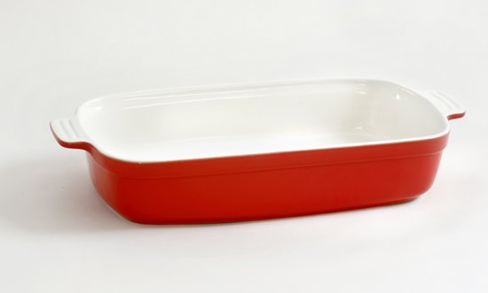 Mama Cucina Ovenplaat - 41,5 cm - Rood
