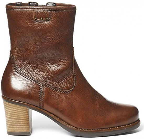 cognac laarzen dames