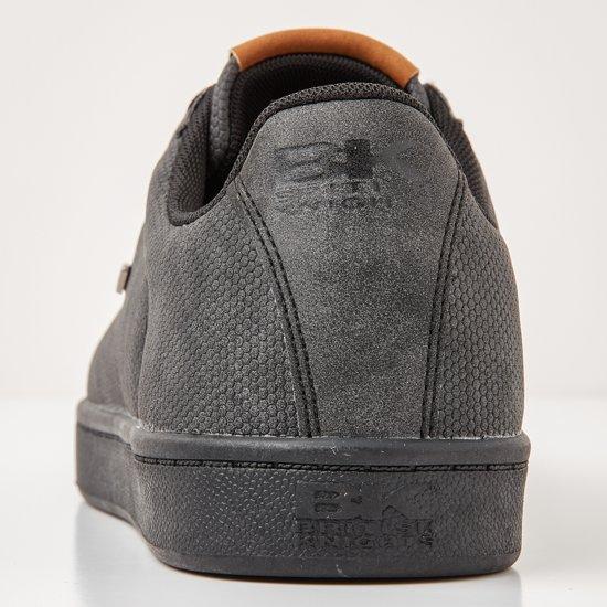 Heren Laag Duke Knights Synthetisch Black Sneakers British 41 EZqwRCxn