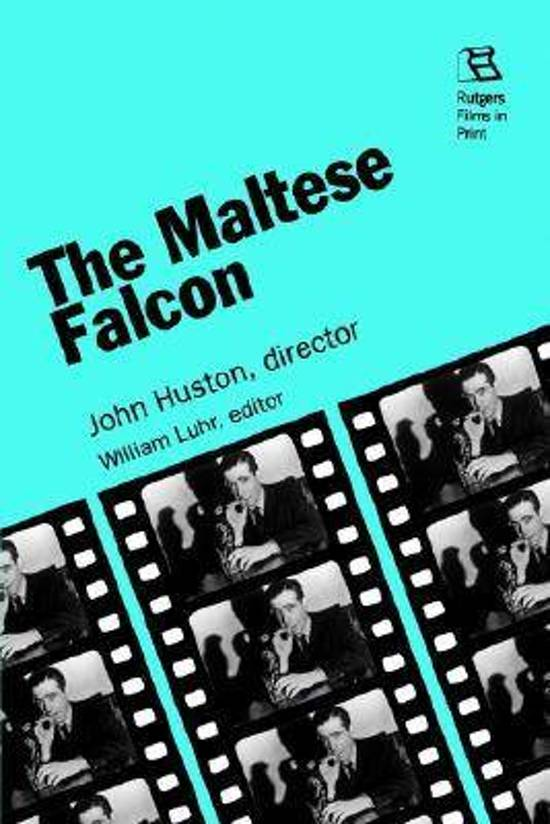 Boek cover The Maltese Falcon van Mike Newell (Paperback)