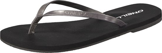 O'neill Slippers Fw Metallic Strap - Black Out 37