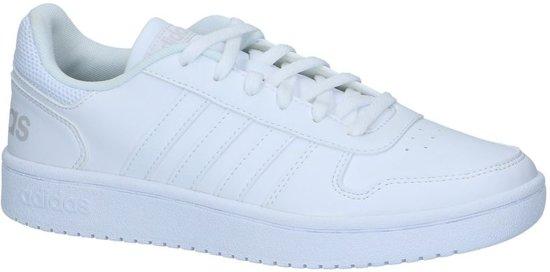 low priced c2ccf 0a8a6 adidas - Hoops 2.0 - Sneaker laag gekleed - Dames - Maat 43 - Wit -