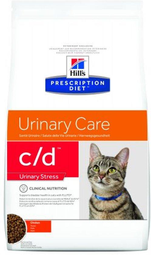 Hill's Prescription Diet Feline C/D - Urinary Care - Kip - Kattenvoer - 8 kg