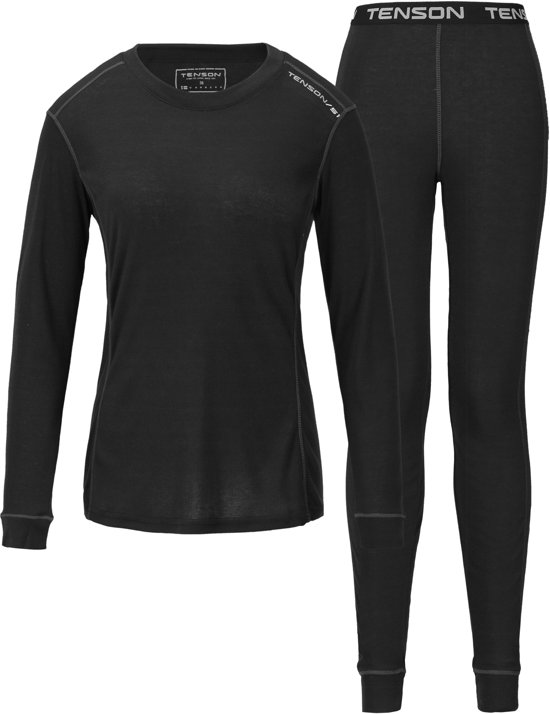 Tenson Magda Thermoset Dames - Black - 38
