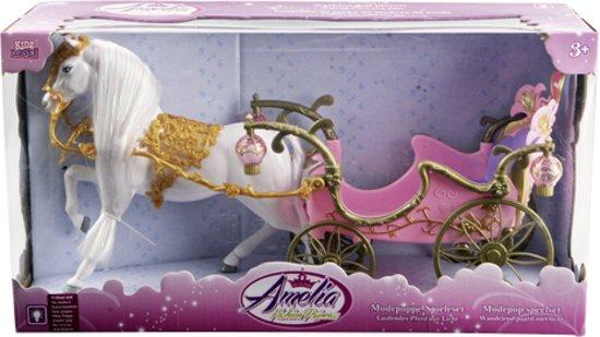 Paard Met Koets - Modepoppen vervoersmiddel