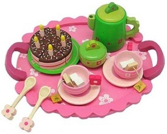 Servies met taart