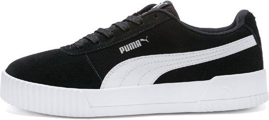 Puma Carina Dames Sneakers - Black-puma Silver