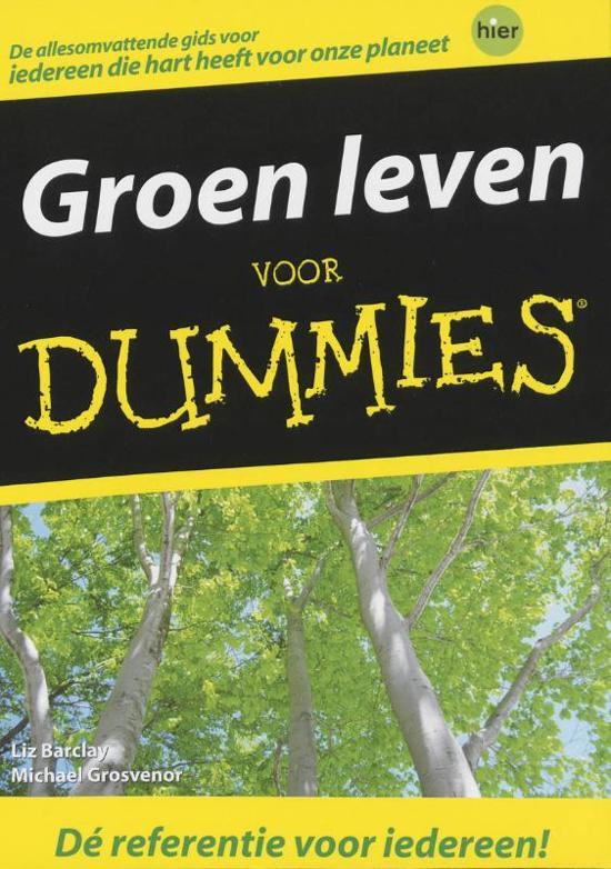 Voor Dummies - Groen leven voor Dummies