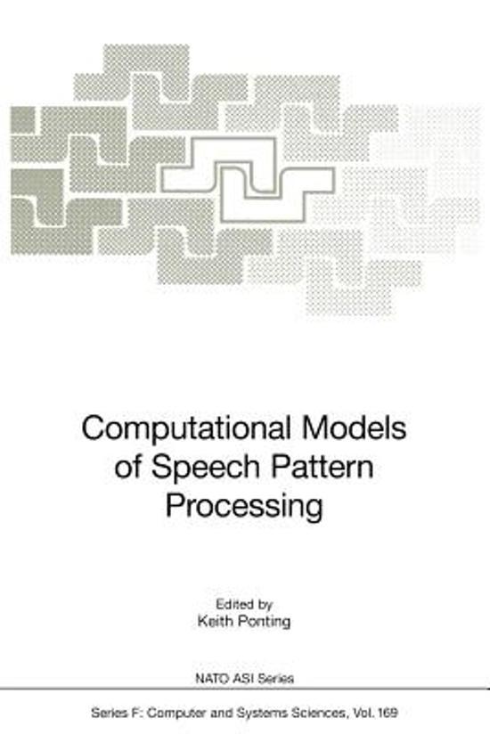 Computational Models of Speech Pattern Processing