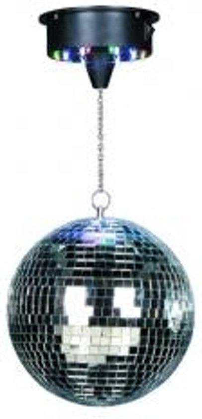 Ibiza Disco Licht Set met Spiegelbol 20 cm