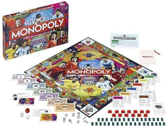 Monopoly - World Football Stars - Engelstalig
